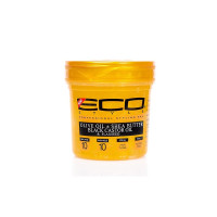 ECO Styler Gold Olive Oil, Shea Butter, Black Castor Oil & Flaxseed Gel, 16 oz  [748378004700]