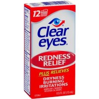 Clear Eyes Redness Relief Drops 0.50 oz [678112254156]
