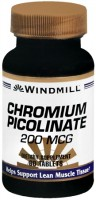 Windmill Chromium Picolinate 200 mcg Tablets 60 Tablets [035046002060]