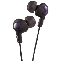 JVC Gumy Plus In-Ear Headphones, Black 1 ea [046838046773]