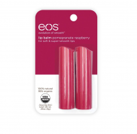 EOS Lip Balm Stick, Pomegranate Raspberry 2 ea [832992012637]