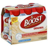 BOOST Nutritional Energy Drinks, Vanilla 8 oz, 6 ea [041679674666]