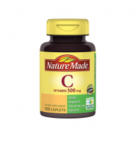 Nature Made Vitamin C 500 mg Caplets 100 ea [031604014858]