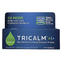 TriCalm Hydrogel, Steroid-Free Soothing Itch Relief Gel  2 oz [851150003003]