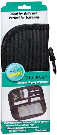 Medicool DIA-PAK Daymate Diabetic Supply Organizer 1 Each [739656600127]