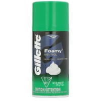 Gillette Foamy Shaving Cream Menthol 11 oz [047400303317]
