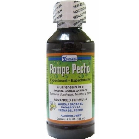 Rompe Pecho Cough Syrup 4 oz [000856003019]