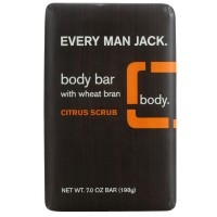 Every Man Jack Body Bar, Citrus Scrub 7 oz [878639000124]