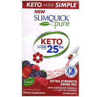 Slimquick Pure Weight Loss Drink Mix Designed for Women, Mixed Berries, 26 ea [811568003439]