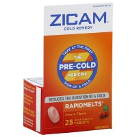 Zicam Cold Remedy RapidMelts, Cherry 25 ea [732216300048]