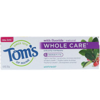 Tom's of Maine Whole Care Natural Toothpaste, Wintermint 4 oz [077326470206]