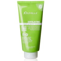 Olivella Exfoliating Face and Body Wash 10.14 oz [764412204165]