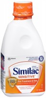 Similac Sensitive Ready-To-Feed With Iron 32 oz [070074575346]
