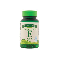 Nature's Truth High Potency E 200 IU Quick Release, 100 ea [840093106063]