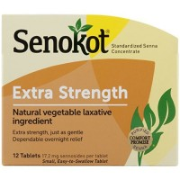 Senokot Extra Strength Tablets, 12 Tablets [367618120125]
