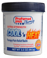 Cool n Heat Balm Extra Strength  3.5 oz [727510001265]