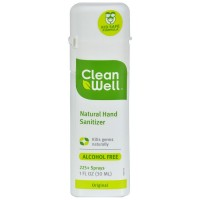 CleanWell Natural Hand Sanitizer  1 oz [893481001136]
