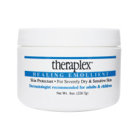 Theraplex Healing Emollient- Skin Protectant for Severely Dry Skin, 8 oz, Ideal for cracked skin, Eczema, Psoriasis