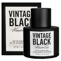 Kenneth Cole Vintage Black Men's Eau De Toilette Spray 3.40 oz [3607348018130]