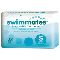 Swimmates Disposable Adult Swim Diapers, Small 22 ea [070319028446]
