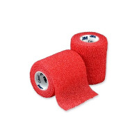 "Cohesive Bandage 3M Coban 3"" X 5 Yard Standard Compression Selfadherent Closure Red NonSterile - 1 ea [707387099619]"