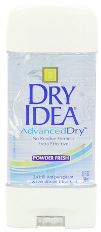 Dry Idea Advanced Dry Antiperspirant Deodorant Clear Gel Pharmapacks