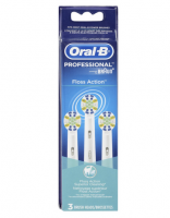 Oral-B Floss Action Brush Head 3 Each [069055842010]
