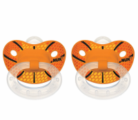 NUK Sports Orthodontic Pacifiers Silicone 6+m 2 Each [885131628084]
