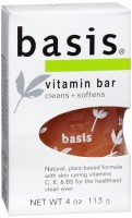 Basis Bar Vitamin 4 oz [072140857295]