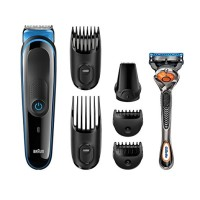 Gillette Braun Trimmer Precise Perfect Face & Head Trimming Kit 7 Piece 1 ea [069055881118]
