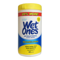 WET ONES Antibacterial Hands Wipes, Citrus 48 ea [076828046728]