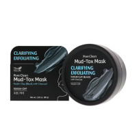 THE YEON Clarifying Exfoliating Pore Clean Black Mud Tox Mask  2.82 oz