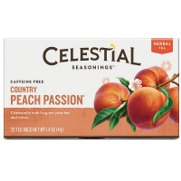 Celestial Seasonings Herbal Tea, Country Peach Passion 20 ea [070734053245]