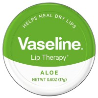 Vaseline Therapy Lip Balm, Aloe Vera 0.6 oz [305210536487]