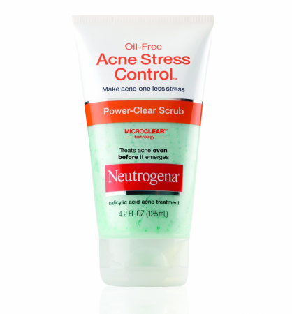 Neutrogena Oil-Free Acne Stress Control Power-Clear Scrub 4.20 oz [070501053256]