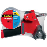 Scotch Heavy Duty Shipping Packaging Tape with Heavy Duty Dispenser 1 ea [051131655508]