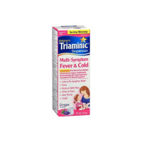 Triaminic  Children's Multi-Symptom Fever Syrup, Grape, 4 oz  [300678116042]