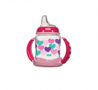 NUK Learner Cup with Silicone Spout, Assorted 1 ea [885131627377]
