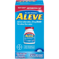 Aleve All Day Strong Pain Reliever/Fever Reducer Arthritis Caplets 270 ea [325866558336]