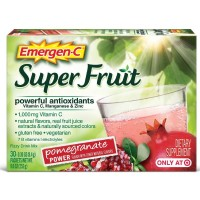 Emergen-C Super Fruit Fizzy Drink Mix, Pomegranate Power 30 ea [076314371105]