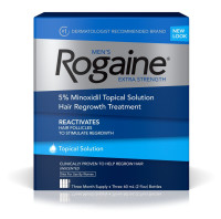 Rogaine Men's Extra Strength Unscented 6 oz [312547700603]