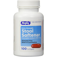Rugby Stool Softener Docusate Sodium 250mg Soft Gels 100 ea [305361064013]