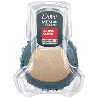 Dove Men + Care Dual Sided Shower Tool, Active Clean 1 ea [011111240216]