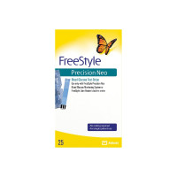 FreeStyle Precision Neo Blood Glucose Test Strips, 25 ea  [093815715771]