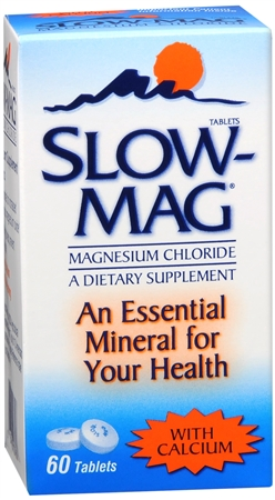Slow-Mag Tablets With Calcium 60 Tablets [067618107606]