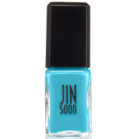 JINsoon  Botanical Flower Collection Nail Lacquer, Poppy Blue, 0.37 oz [852699004186]