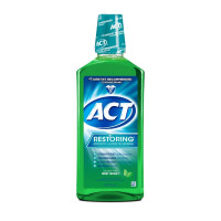 ACT Restoring Alcohol-Free Mouthwash, Mint Burst, 33.8 oz  [041167097830]