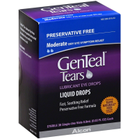 GenTeal Lubricant Eye Drops Sterile Single-Use Vials 36 ea [300650416634]