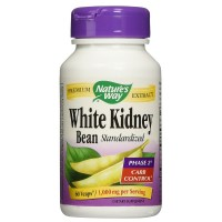 Nature's Way White Kidney Bean Standardized Vegetarian Capsules 60 ea [033674159057]