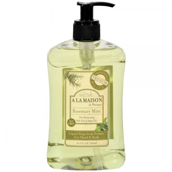A la maison french liquid soap rosemary mint oz for A la maison french